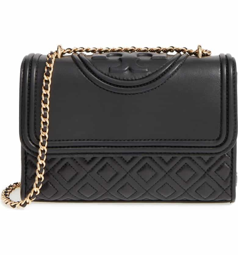Luxury gift ideas - Black Tory Burch Bag