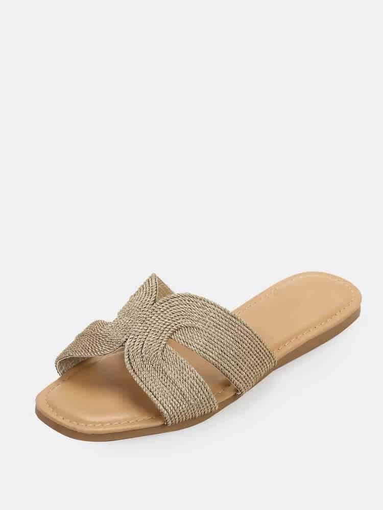 Metallic hermes sandalen dupe look alike.
