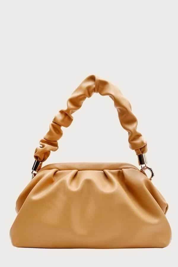 Brown bottega veneta the pouch dupe.