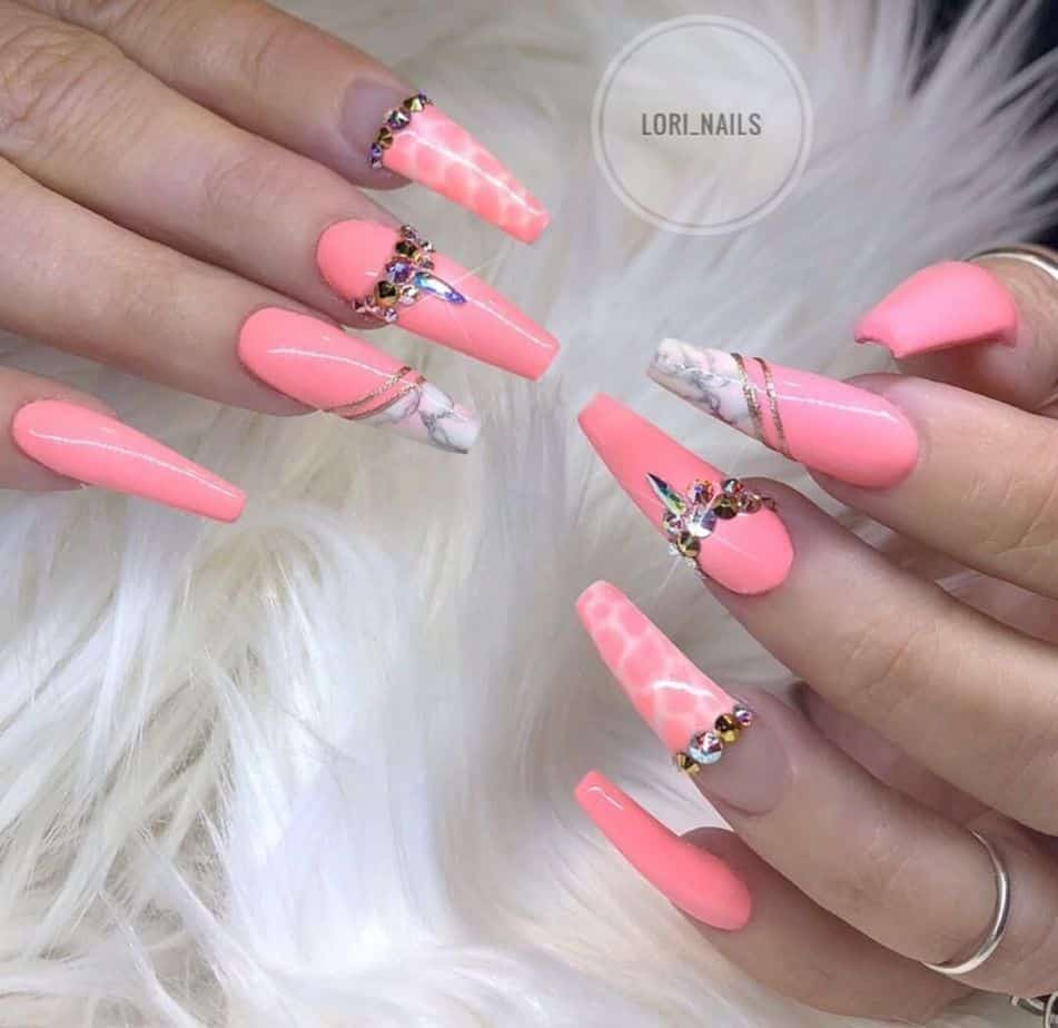 pretty nail designs for spring