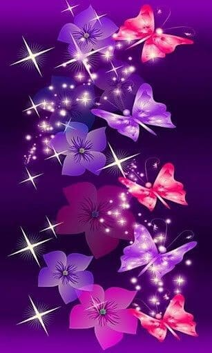 Purple butterfly wallpaper and wallpapers