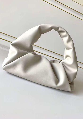 White Bottega Veneta Pouch dupe for Bottega bag dupe.