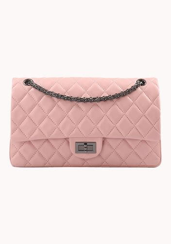 Pink quilted chanel look alike bags in uk.