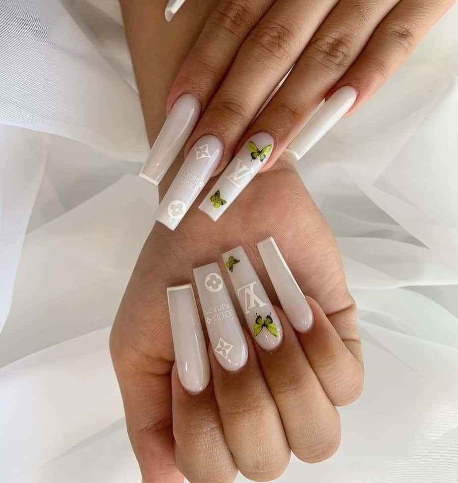 lv nails design